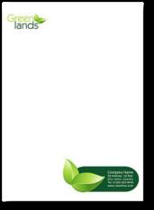 corporate identity briefpapier